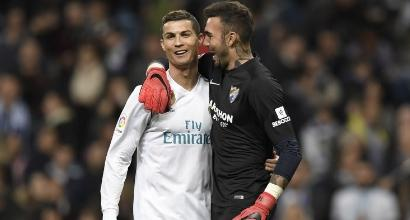 Liga: Cristiano Ronaldo salva il Real Madrid, manita Atletico