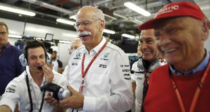 """F1: la Mercedes """"copia"""" la Ferrari, presentazione il 22 febbraio"""