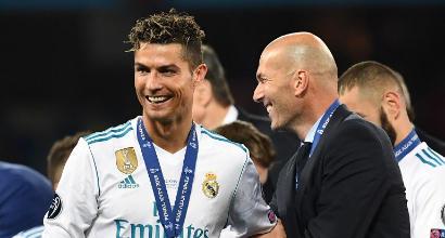 "Real Madrid, Zidane: ""Stiamo facendo la storia"""