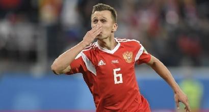 Mondiali: la Russia travolge l'Egitto e ipoteca gli ottavi