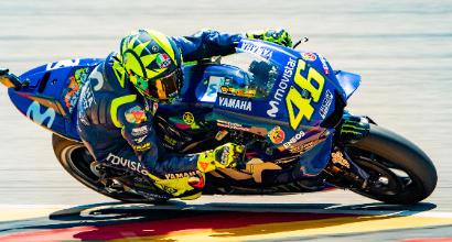 """MotoGp, Rossi: """"Qualifica tirata, sono soddisfatto"""""""