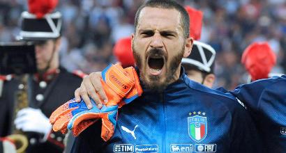 Nazionale, Bonucci tocca 81 presenze: come Baresi, Bergomi e Tardelli