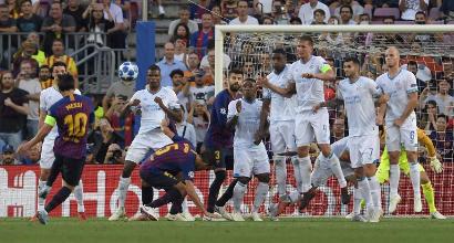 Champions League, Messi fa volare il Barcellona: 4-0 al Psv