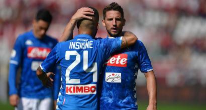 Doppio Milik e Insigne: Napoli, 3-0 al Parma