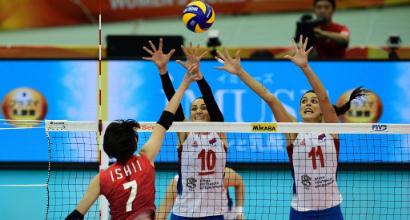 Pallavolo: le azzurre in semifinale dopo l'impresa col Giappone