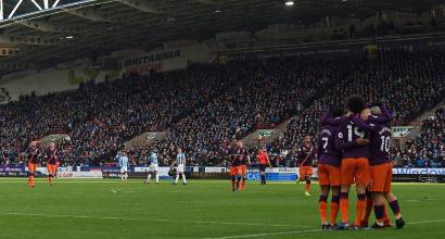 Premier League: un super Sanè trascina il City, il Tottenham vince al 94'