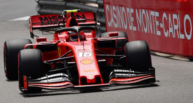 F1 Monaco: Leclerc vola nelle Libere 3, solo reprimenda dopo il richiamo dei commissari