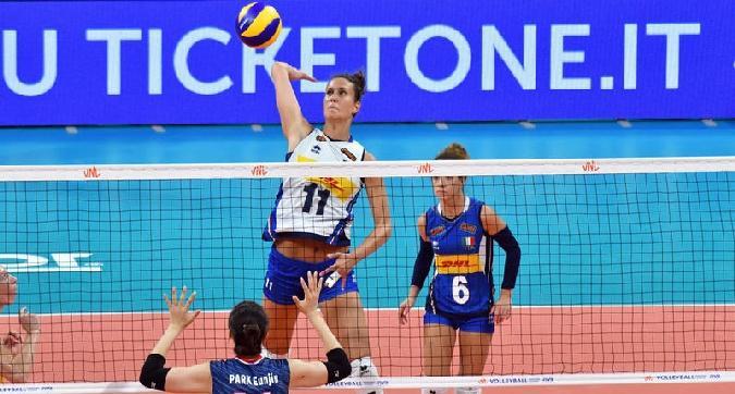 Volley, altra vittoria per l'Italia