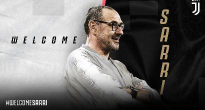 Adesso è ufficiale: Maurizio Sarri è il nuovo allenatore della Juventus