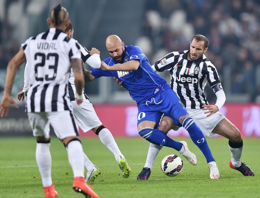 Juve-Sassuolo: ecco le immagini più belle della sfida dello Stadium che chiude la 26.ma giornata di Serie A<br /><br />
