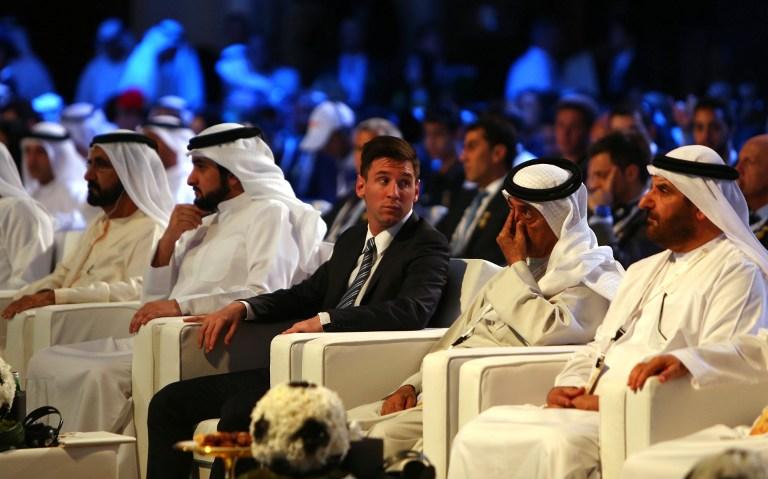 I potenti del calcio a Dubai