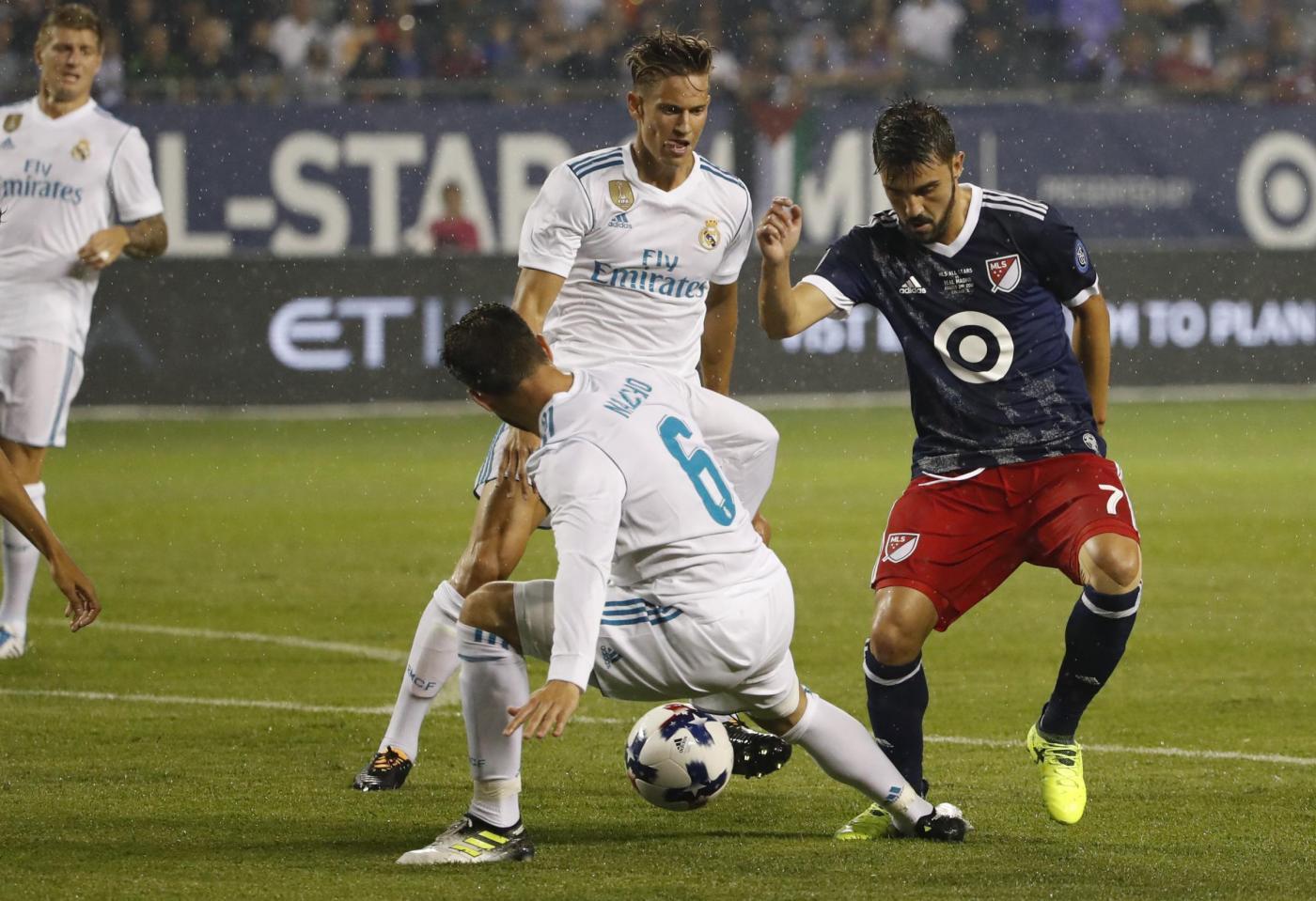 Il Real Madrid batte le stelle della Mls
