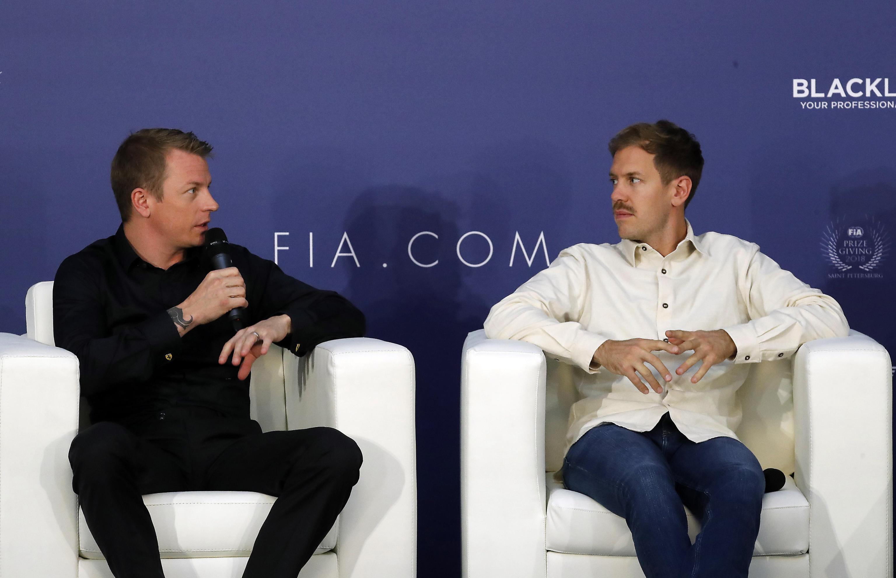 F1, Vettel e Raikkonen assieme al Galà Fia