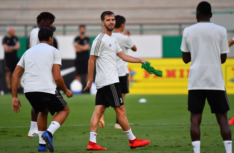 Supercoppa, Juve in campo per l'allenamento