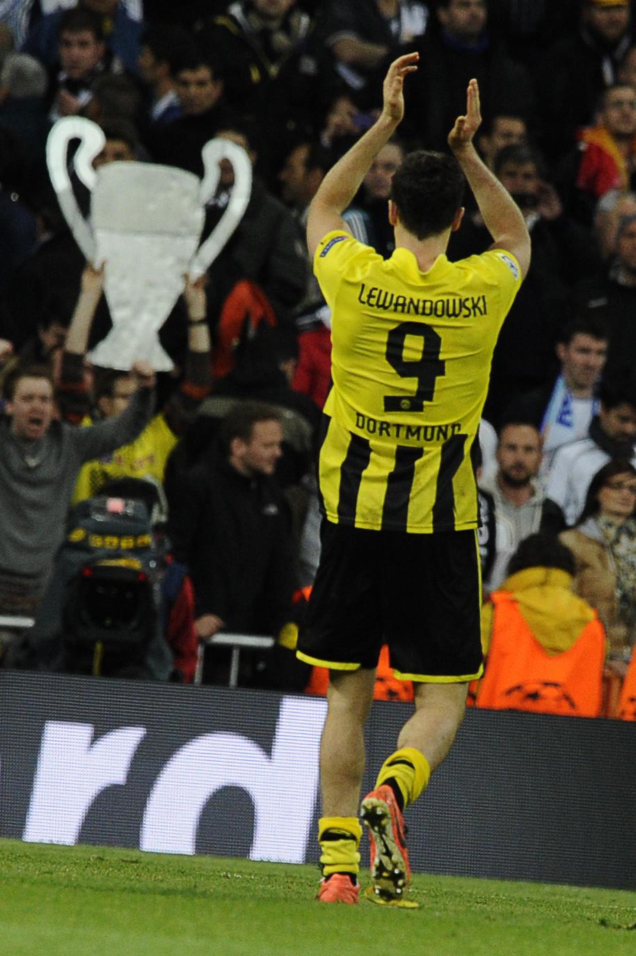 Robert Lewandowski (Borussia Dortmund-Real Madrid, 2013)