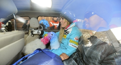 Sci: Lindsey Vonn, niente Olimpiade di Sochi 2014