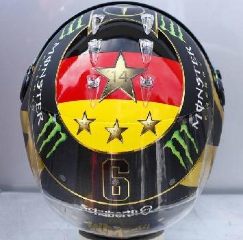 Coppa del mondo coperta dai diritti, la Fifa vieta il casco di Nico Rosberg a Hockenheim