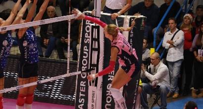 Volley, A1 femminile: colpo Piacenza, Casalmaggiore in vetta