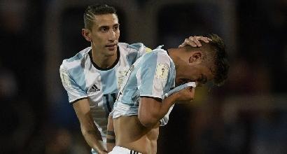 Qualificazioni Mondiali, Argentina-Uruguay 1-0: decide Messi, espulso Dybala