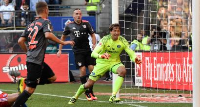 Bundesliga: Bayern a bottino pieno, il Leverkusen vince con Chicharito-show