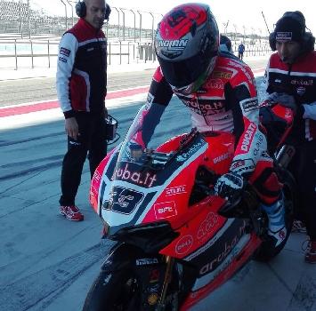 Sbk, test Aragon: Ducati e Kawasaki davanti