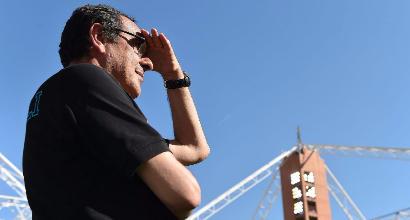"""Napoli, Sarri: """"Siamo stati straordinari"""""""