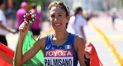 Antonella Palmisano salva la faccia all'Italia