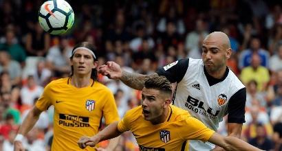 Valencia, Zaza si infortuna al ginocchio in amichevole: esclusa la rottura del legamento