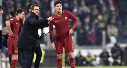 Juventus-Roma, Di Francesco: ho preferito venire qui che andare a Torino