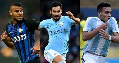 Mercato Inter: Martinez sbarca il 24, Rafinha vuole restare. Il sogno è Gündogan