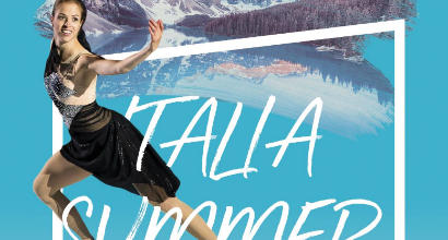 "Pattinaggio show con l'""Italia Summer Tour 2018"""