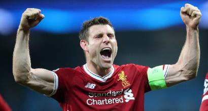 """Liverpool, la rivelazione di Milner: """"Per colpa di mio padre da piccolo non indossavo mai niente di rosso"""""""