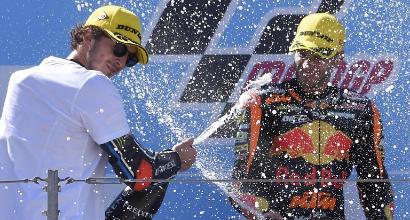 Moto2 Aragon, prima pole in carriera per Binder su Ktm