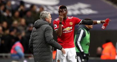 Manchester United, è ancora lite tra Pogba e Mourinho