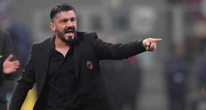 """Milan, Gattuso: """"Juve nettamente più forte di noi"""""""