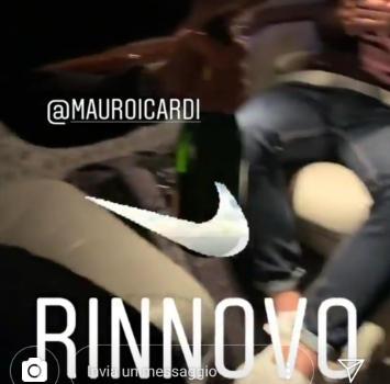 Inter, Icardi ha rinnovato con la Nike