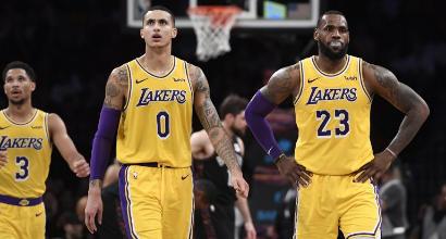 NBA: Lakers ko contro i Nets, i Cavs vincono all'ultimo respiro