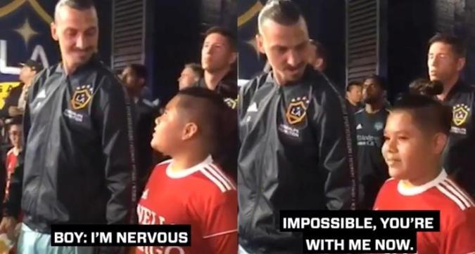 """Mls, l'altra faccia di Ibrahimovic: """"Nervoso? Ora sei con me"""""""