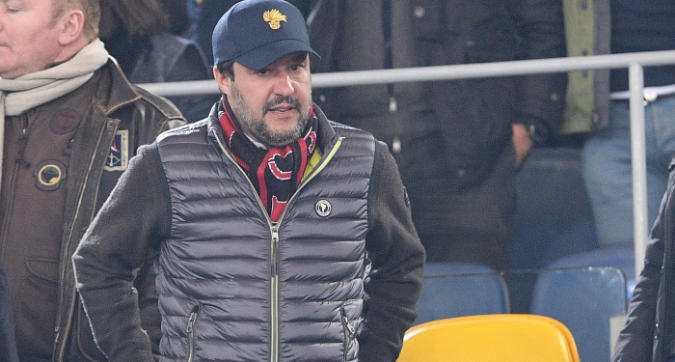 """Milan, Salvini: """"Adoro Gattuso, lo invito a cena"""""""