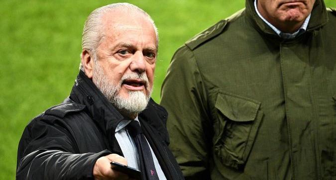 """Napoli, De Laurentiis: """"James dopo Ronaldo e Messi. Icardi vuole la Juventus"""""""