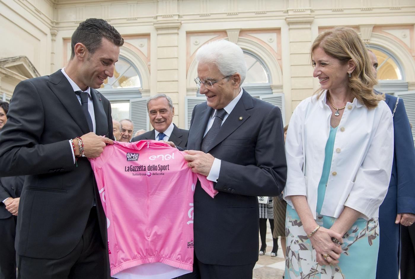 Ranieri e Nibali da Mattarella al Quirinale