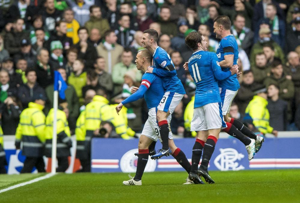 Scozia: Rangers-Celtic 1-2, le foto del match