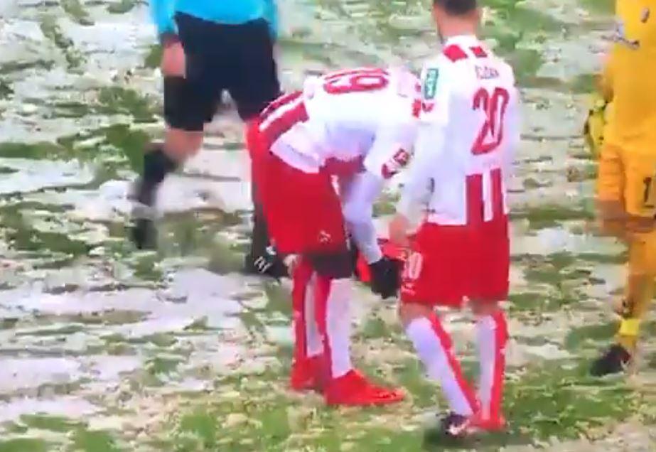 Bundesliga, a Colonia troppa neve: non c'è il dischetto
