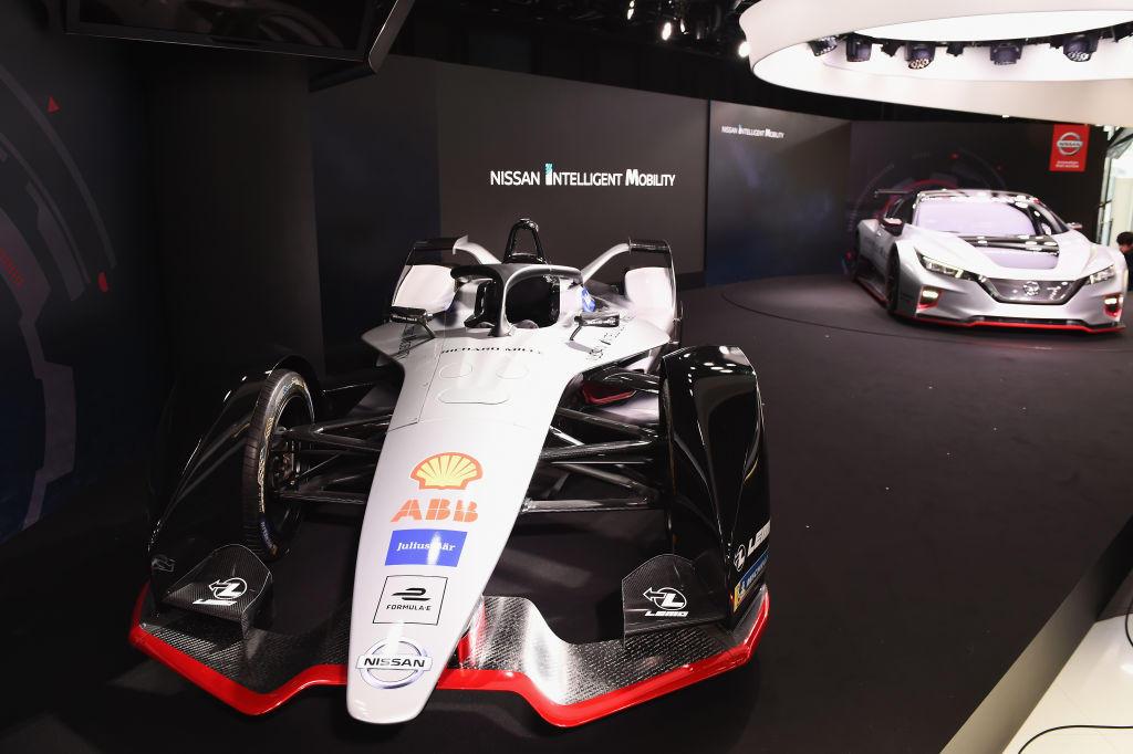 Nissan, presentata la IM01 con Buemi-Rowland