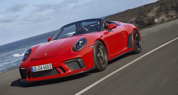 Porsche, arriva la 911 Speedster