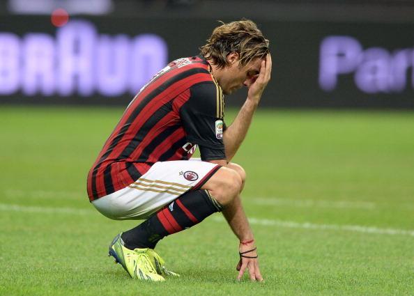 Alessandro Matri, stagione 2013-14: arriva fortemente voluto da Allegri, segna un gol in 15 presenze, contro il Parma. Esonerato il tecnico, va via a gennaio.