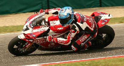 Checa Test a Misano foto Ducati