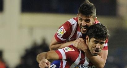 Diego Costa e David Villa, Afp