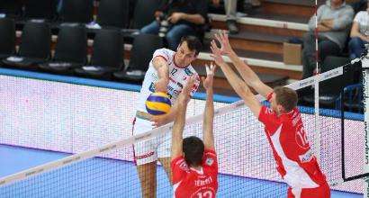 Volley, SuperLega: Trento riparte, 3-0 a Piacenza