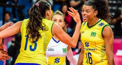 Volley, World Grand Prix: troppo Brasile per l'Italia